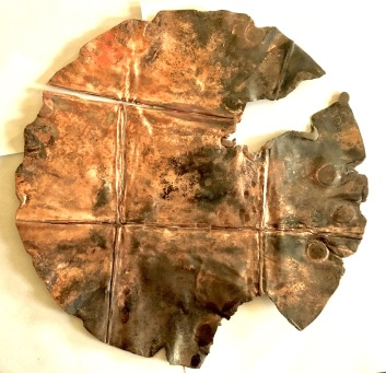 Bronze Sun disk.