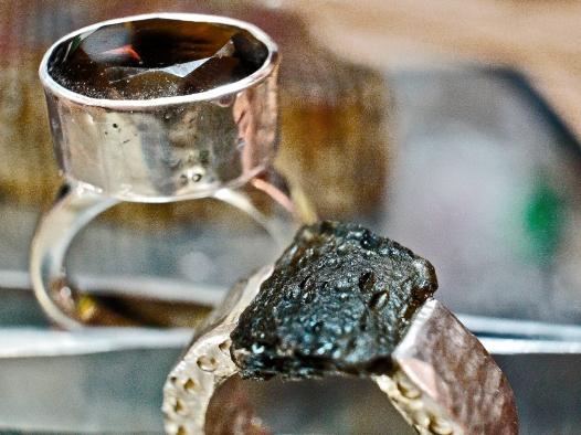 two rings quartz vltorite